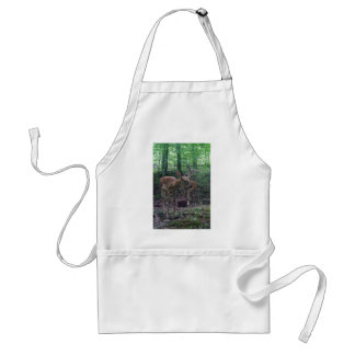 Fawn and Momma Standard Apron