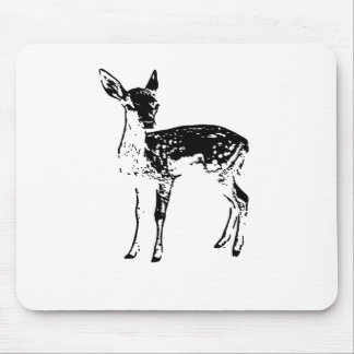 Fawn - Baby Deer Mouse Pad