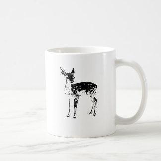 Fawn - Baby Deer Basic White Mug