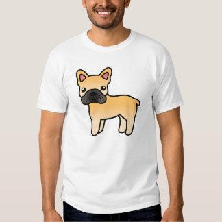 Fawn Cartoon French Bulldog Shirt