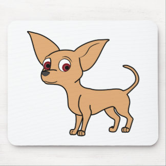 Fawn Chihuahua Mouse Pad