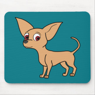 Fawn Chihuahua with Short Hair Mouse Pad