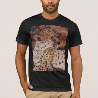 Fawn-coloured tee-shirt Cheetah Man T-Shirt