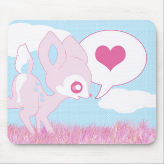 Fawn Cutie Mouse Pad