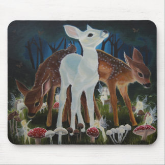 Fawn Faery Ring ~ Mousepad / Mousemat