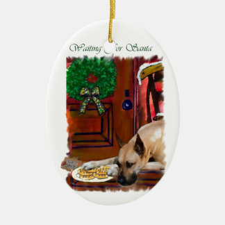 Fawn Great Dane Christmas Christmas Ornament