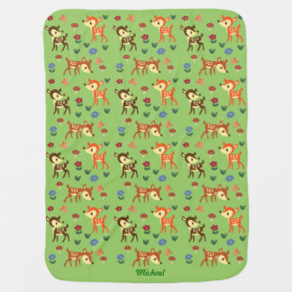 Fawn Green Blanket