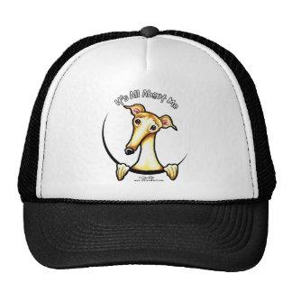 Fawn Greyhound IAAM Trucker Hats