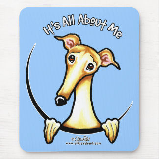 Fawn Greyhound IAAM Mouse Pad