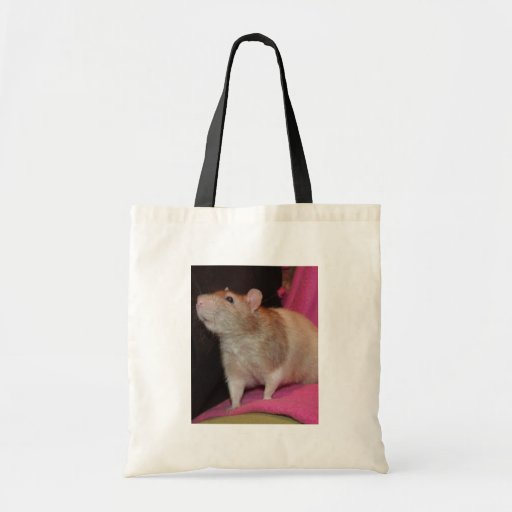 fawn hooded rat canvas bag