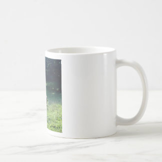 Fawn in the Meadow Basic White Mug