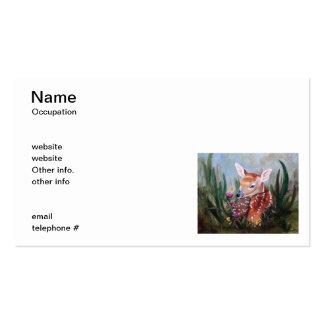 Fawn Innocence Business Cards