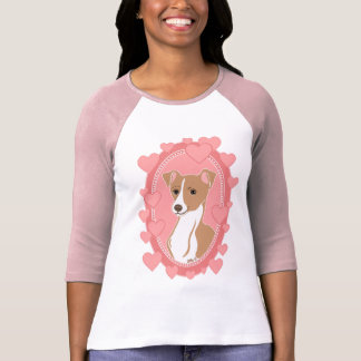 Fawn Italian Greyhound Women's Raglan T-Shirt