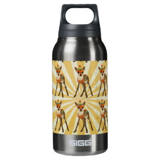 Fawn & Little Bird Liberty Bottle 10 Oz Insulated SIGG Thermos Water Bottle