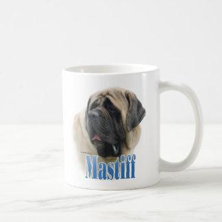 Fawn Mastiff Name Basic White Mug