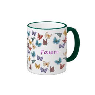 Fawn Ringer Mug