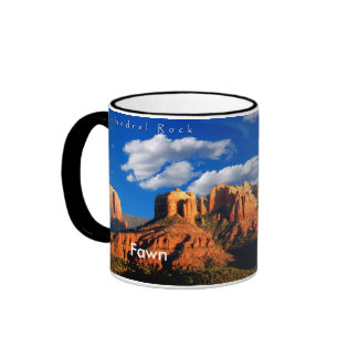Fawn on Cathedral Rock and Courthouse Mug