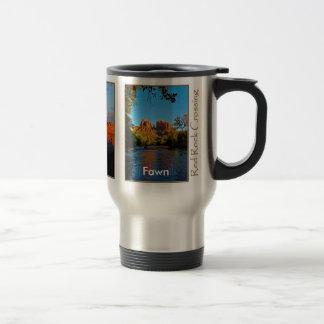 Fawn on Red Rock Crossing Mug