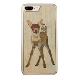 FAWN & OWL Carved iPhone Carved iPhone 8 Plus/7 Plus Case