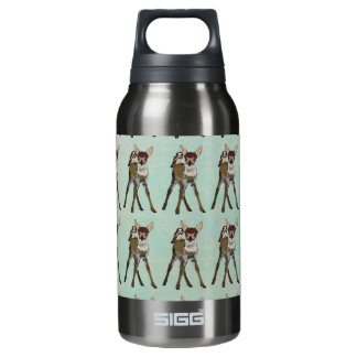 FAWN & OWL Liberty Bottle 10 Oz Insulated SIGG Thermos Water Bottle