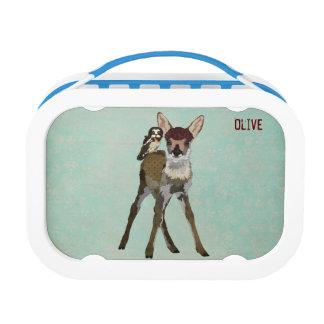 FAWN & OWL Lunch Box Yubo Lunchbox
