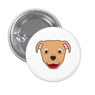 Fawn Pitbull 3 Cm Round Badge