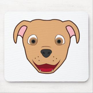 Fawn Pitbull Mouse Pad