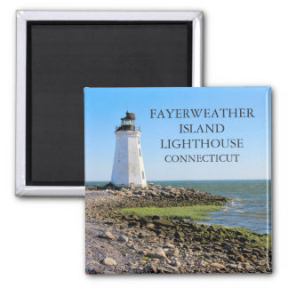 Fayerweather Island Lighthouse, Connecticut Magnet