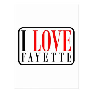 Fayette Alabama Postcard