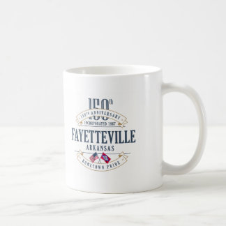 Fayetteville, Arkansas 150th Anniversary Mug