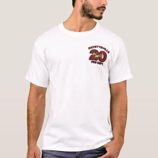 Fayetteville Fire Department Ladder 20 T-Shirt
