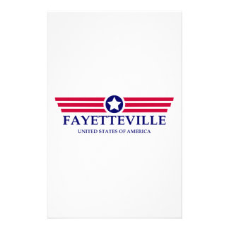 Fayetteville NC Pride Customised Stationery