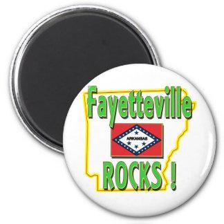 Fayetteville Rocks ! (green) Magnet