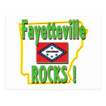 Fayetteville Rocks ! (green) Post Cards