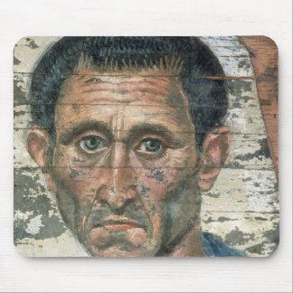 Fayum portrait of a man in a blue cloak, mousepad