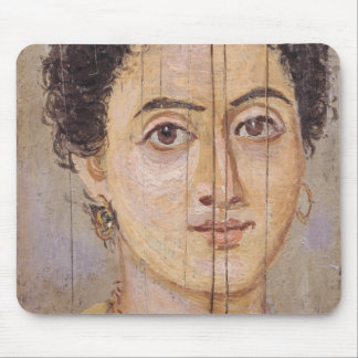 Fayum portrait of a woman mouse pad