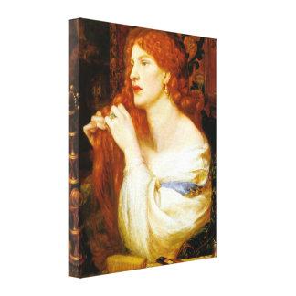 Fazio s Mistress Aurelia Fine Art Canvas Print
