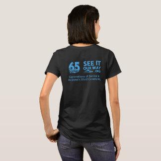 FBC 65 Year Women's Black T-shirt