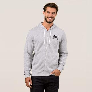 FBC Men's Grey Zip up Hoodie