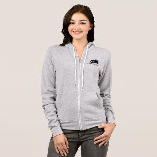FBC Women's Grey Zip up Hoodie