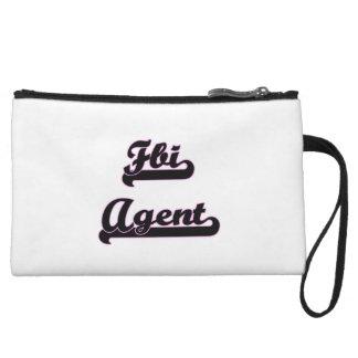 Fbi Agent Classic Job Design Wristlets