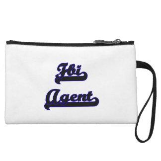 Fbi Agent Classic Job Design Wristlet Purses