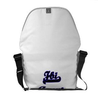Fbi Agent Classic Job Design Courier Bags