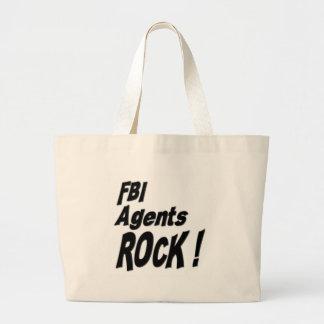 Fbi Agents Rock! Tote Bag