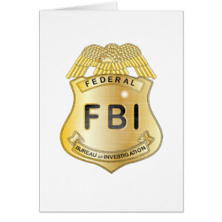 FBI Badge Card