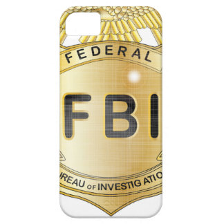 FBI Badge iPhone 5 Cases