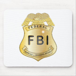 FBI Badge Mouse Mat