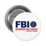 FBI BAU Criminal Pinback Buttons