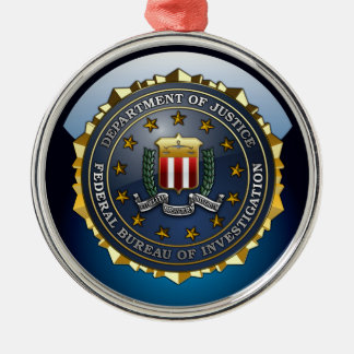 FBI Emblem Christmas Ornament
