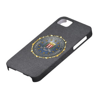 FBI Emblem iPhone 5 Case